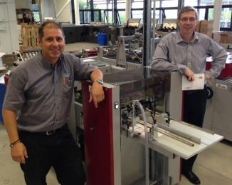 Italian job for St Austell Printing Company