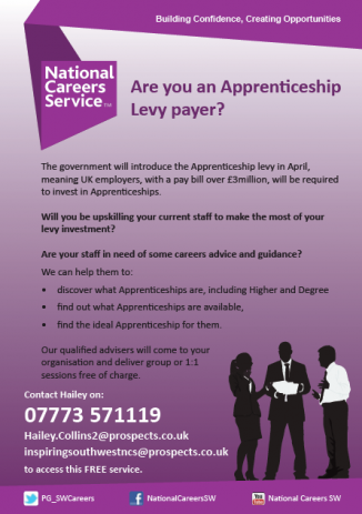 Are you an Apprenticeship Levy payer