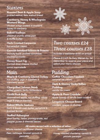 St Austell Business Associates Christmas Lunch