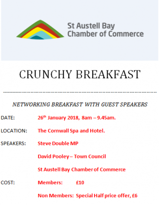 Crunchy Breakfast Networking event